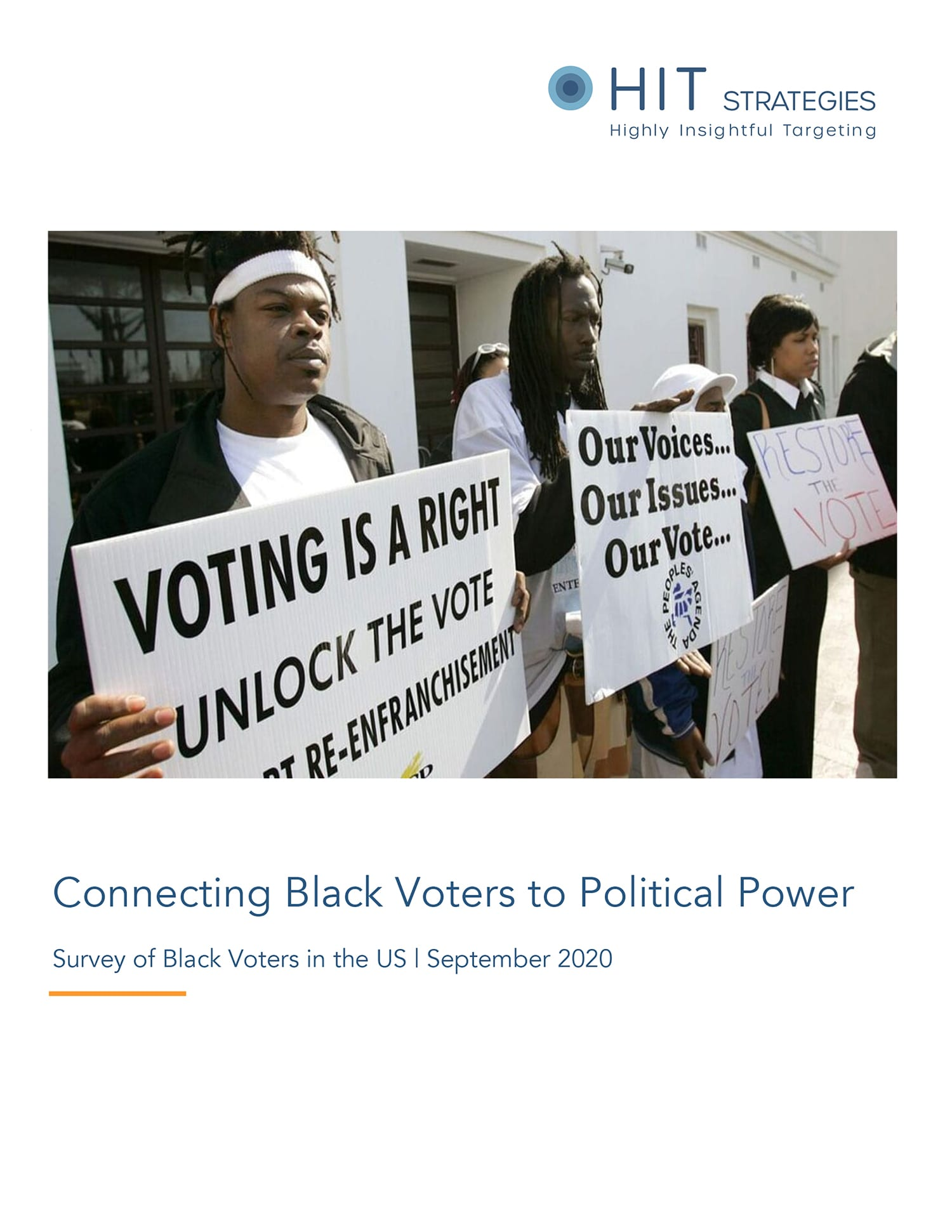 Connecting Black Voters to Political Power Report Cover